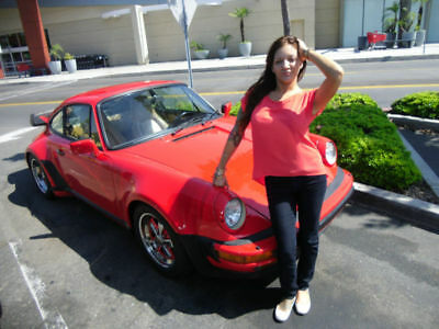 1986 Porsche 911 930 Turbo Carrera, sunroof coupe