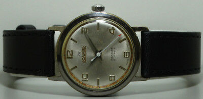 Vintage Roamer Winding Swiss Made Wrist Watch Old Used s866 Antique