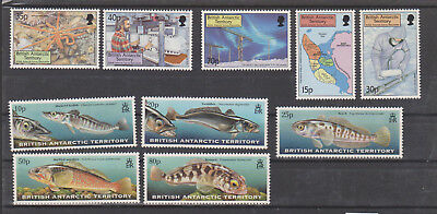 Britisch  ANTARCTIC TERRITORIES, 9 STAMPS from 1999 MNH**, see scan!