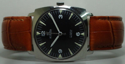 Vintage Roamer Winding Swiss Made Wrist Watch Old Used s557 Antique