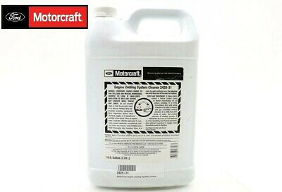 NEW Motorcraft Engine Cooling System Cleaner VC-11 1 Gallon Ford