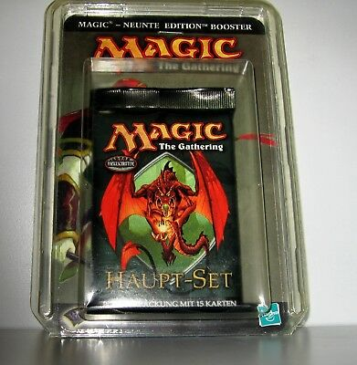 Magic the Gathering 1 x Haupt-Set Booster-Packung 9. Edition 15 Karten in OVP