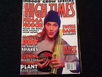 High Times Magazine February 2000 Jason Mewes