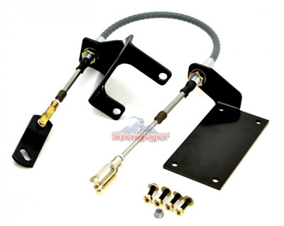 Steinjager J0048041 np231 Transfer Case Cable Shifter Kit Jeep Wrangler TJ