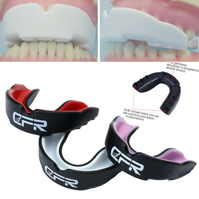 CFR Shockproof Sports Gum Shield Mouth Guard Teeth For Boxing MMA Rugby Grinding