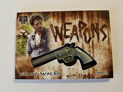 2018 Topps Walking Dead Hunters And The Hunted Shane Weapons Medallion #d 84/99