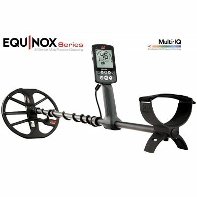 Minelab Equinox 800 Metal Detector, 100% Waterproof & Wireless Technology