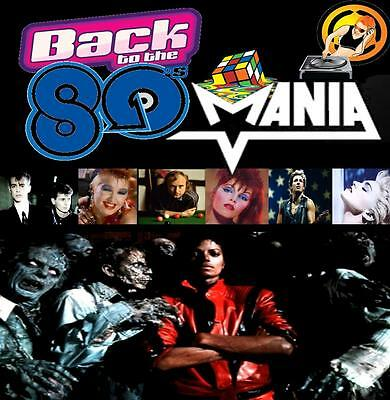 80's Mania 4 -Non Stop Dj Video Mix Dvd- 74 Minutes Of Eighties Hits + Gift Mix