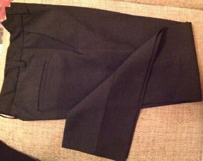 Brand New Boys Charcoal School Trousers Marks & Spencer 11-12 Years