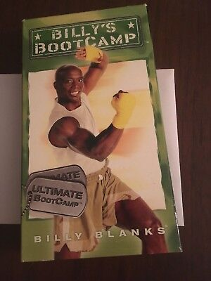 Billy Blanks Ultimate Bootcamp vhs tae bo workout video