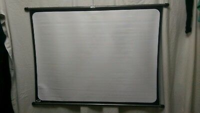 Projector screen F.I.N.S. Milan's.  Boots 113cm X 83cm And Case