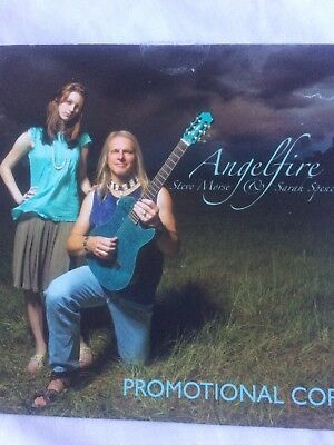 Steve Morse And Sarah Spencer  ‎– Angelfire Promo Cd Deep Purple Dixie Dregs