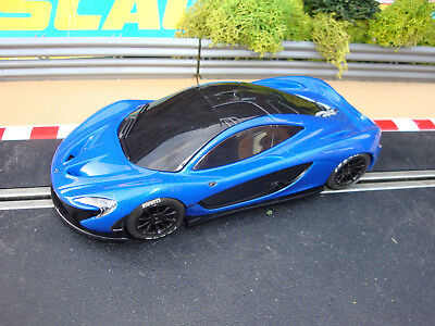 SCALEXTRIC BLUE McLAREN P1  - LOADS MORE CARS FOR SALE