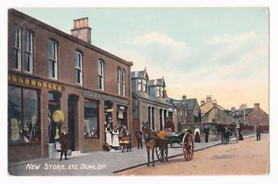 DUNLOP, NEW STORE (Main Street), 1914 - Ayrshire, Scotland - Wyllie, Post Office