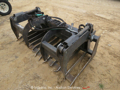2017 Bradco Paladin 68'' Grapple Bucket Attachment For Most Skid Steers -Repair