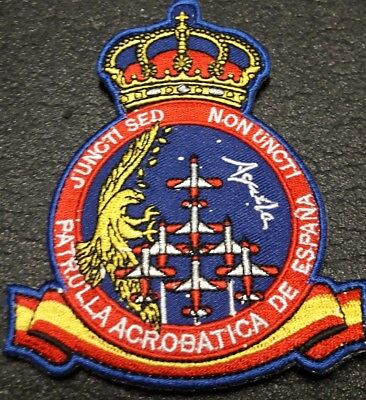 Parche militar Ejercito del Aire Spanish Airforce military patch Patrulla Aguila