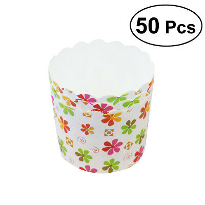 50 Pcs Mini Cupcake Liners Paper Cake Baking Cup Muffin Cases Xmas Wedding Party