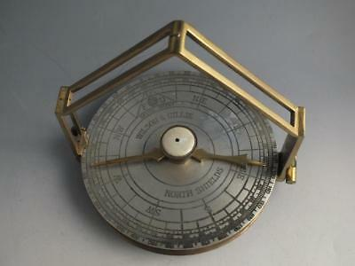 Late 19Th Century Brass Pelorus Made By Wilson & Gillie, North Shields