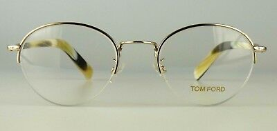 c4c3b66b297 Tom Ford eyeglasses with case model TF5334 Color 032 gold Made in Italy