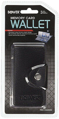Bower Memory Card Wallet Holds 20 Cards