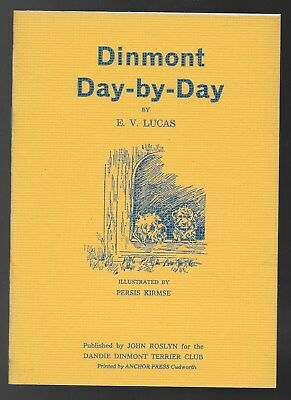 Dandie Dinmont Day-by-Day Illustrated Dog Book Persis Kirmse Illus. 1978 Reprint