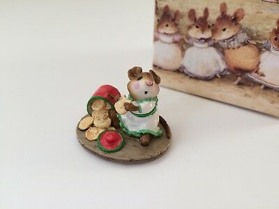 Wee Forest Folk M-209  Christmas CAUGHT IN THE ACT Limited Store SPECIAL - MINT