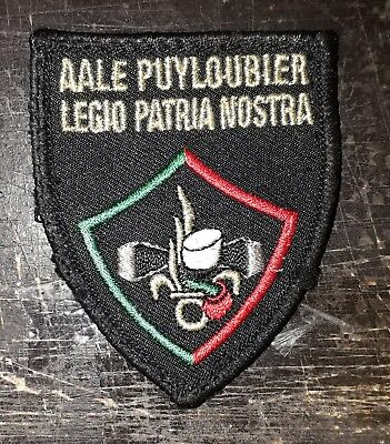 insigne militaire Legion etrangere AALE PUYLOUBIER french army badge