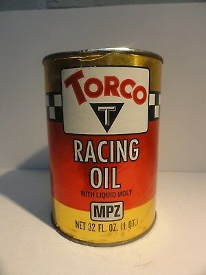 TORCO RACING OIL Quart Fiber Can Full Bin 87-5