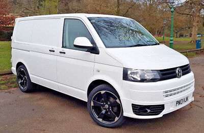 "2013 VW Transporter T5.1-AIR CON- SATNAV- CRUISE-""20 ALLOYS- SPORTLINE SPOILERS"