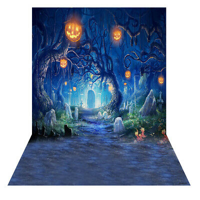 Andoer 1.5 * 2m Photography Background Backdrop Digital Printing Hallowmas K7A7