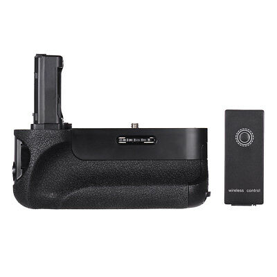 Vertical Camera Battery Grip Holder For Sony A7/a7R/a7S+2*np-Fw50 Battery V8O8