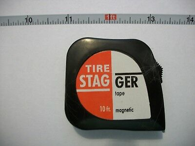 Fmr 10 Foot (120 Inch) Magnetic Tire Stagger Tape, 2 Pack, Circle Track Imca New