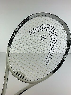 "Head Flexpoint S10 Tennis Racquet 4 3/8"" very lightly used"