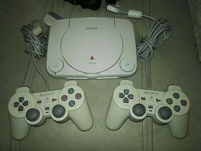 Consola Sony Psone Slim Ps1 Psx Play Playstation 1 2 Mandos Cables