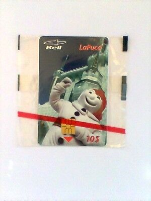 "1996 Bell Canada LaPuce ""CARNAVAL of QUEBEC"" LE $10 PrePaid Chip Phone Card NEW"