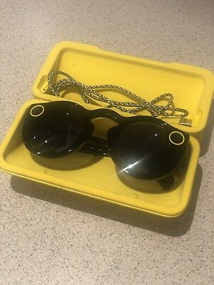 Snap Inc. Snapchat Spectacles Glasses - Onyx Moonlight