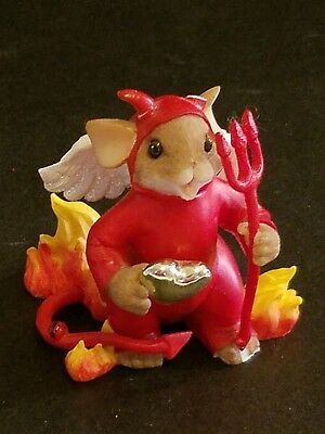 """Charming Tails """"you're My Little Devil With A Heart Of Gold""""  Autographed"""