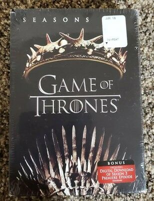 Game Of Thrones: Seasons 1 and 2 (DVD, 2017, 10-Disc Set)