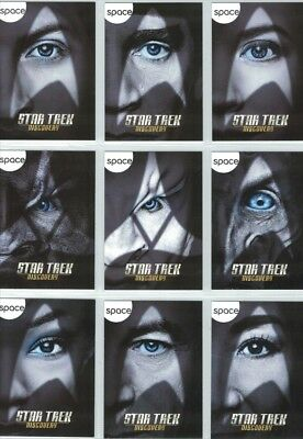Star Trek Discovery Character Cards SDCC/Fan Expo Packs-11 cards