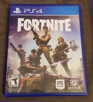 Fortnite PS4 Play Station 4 Physical Disk - Used Mint Condition  RARE
