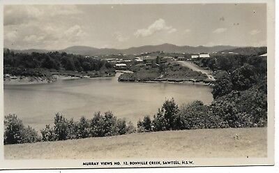 Bonville Creek Sawtell (Coffs Harbour) Nsw  Photo Postcard