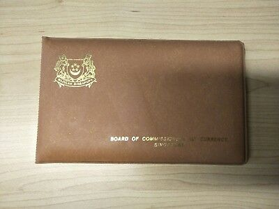 1983 Singapore Year Of The Boar 5 Coin Uncirculated Set
