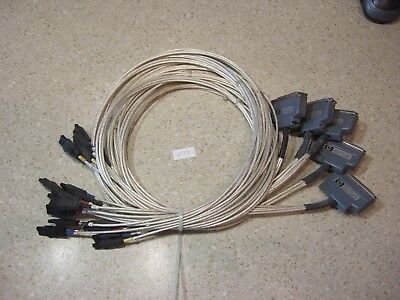 Lot of HP 8180A Cables - (4) 15423A + (1) 15422A