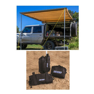 Adventure Kings Awning 2x3m + Adventure Kings Sand Bags (pair)