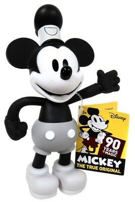 MICKEY MOUSE Steamboat Willie Posable 6.5 Inches Figure 90th Anniversary 2018