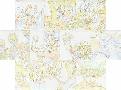 Dragon Ball The 20Th Film Japan Art Canvas Set X10 Douga Cel Akira Toriyama Toei