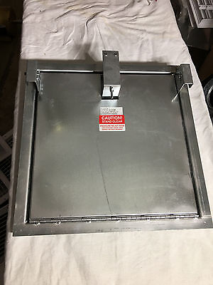 "RUSKIN *NEW* Positive Pressure Relief Access Doors *EXC $$* 18"" X 18"" *FREE SHIP"