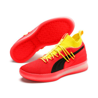 detailed look 62e5f be35b NEW PUMA MEN'S Clyde Court Basketball Shoes Sneakers - Red Blast(191715-02)