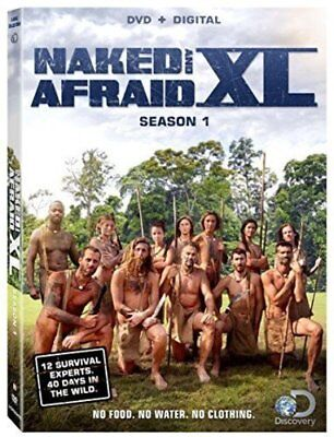 Naked and Afraid XL Discovery TV Series Complete First Season 1 One Box DVD Set