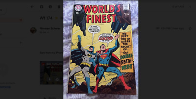 Worlds Finest 174 - March 1968 -  Very Good